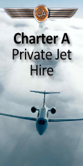 Charter-a Private jet hire